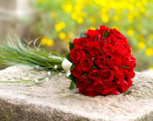 kwiaty slubne